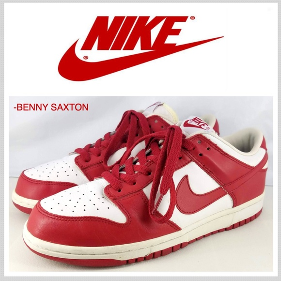 best service 16970 c5982 2005 MEN'S NIKE DUNK LOW VARSITY RED/WHITE SIZE 8